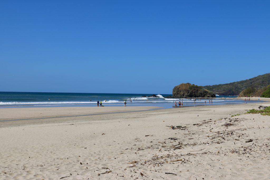 Praia Grande, no Parque Nacional Marinho Las Baulas, Tamarindo, Costa Rica