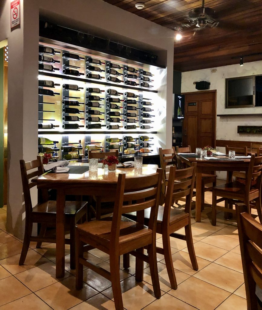 Restaurante Dom Rufino, em La Fortuna, Costa Rica