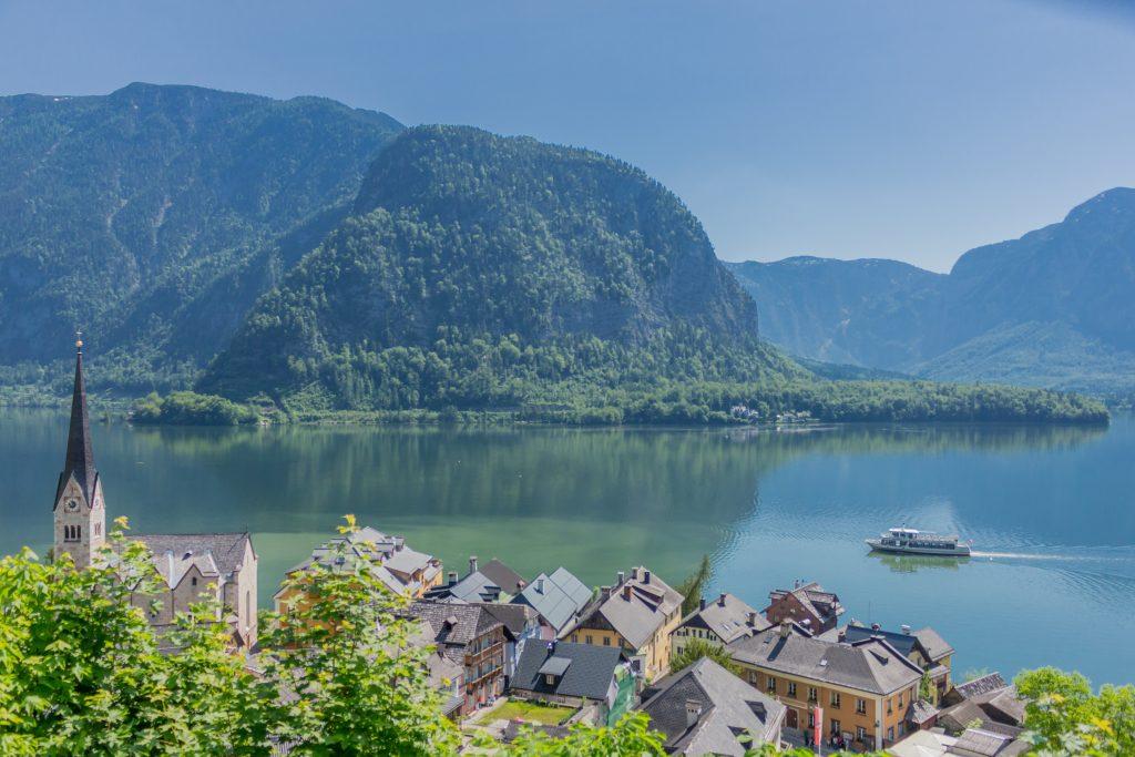Hallstätter See, Lago de Hallstatt, Áustria