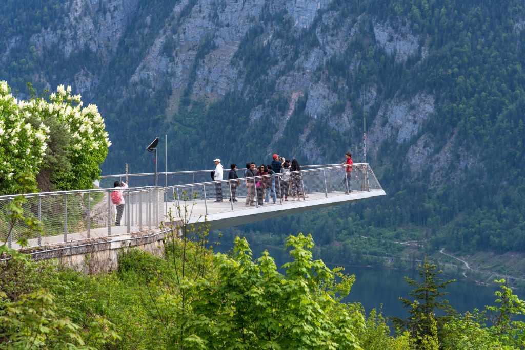 Skywalk, Hallstatt, Austria