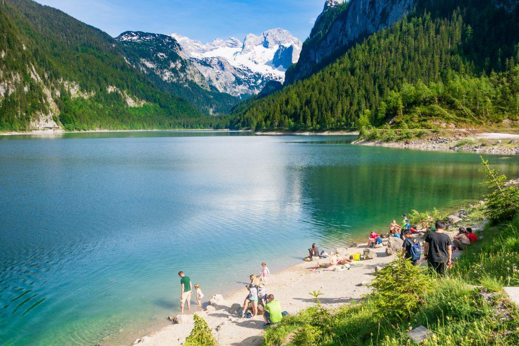 Gosausee, Lago Gosau, na Áustria