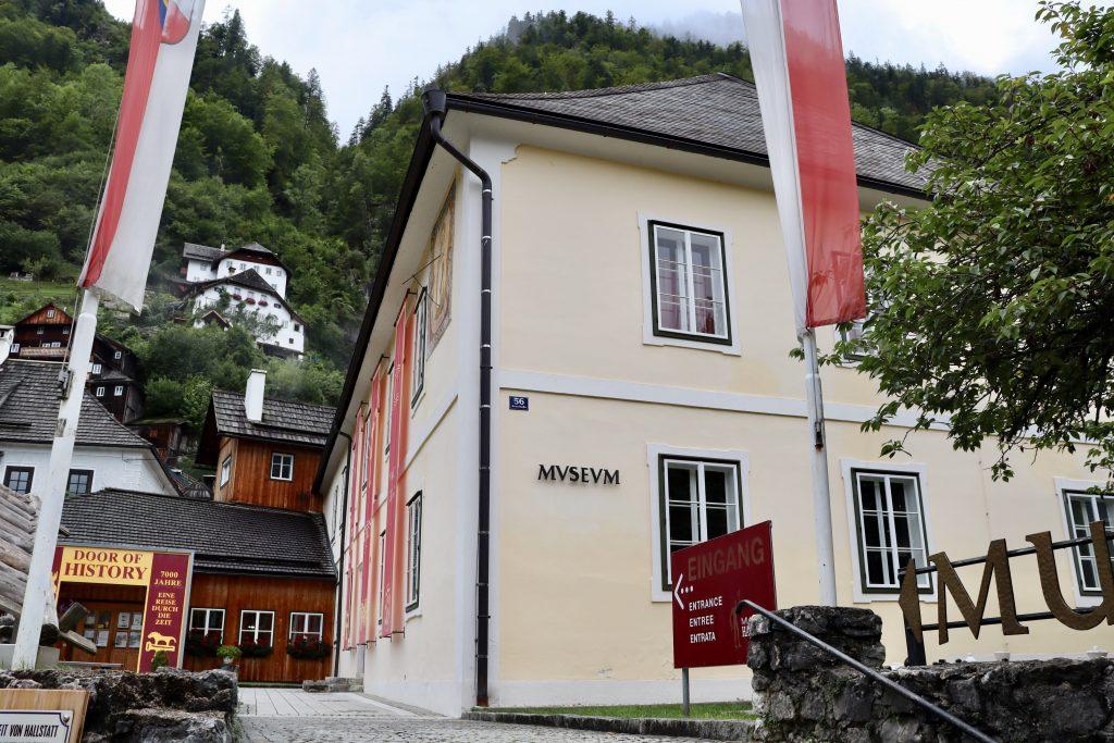 Museu de Hallstatt na Áustria