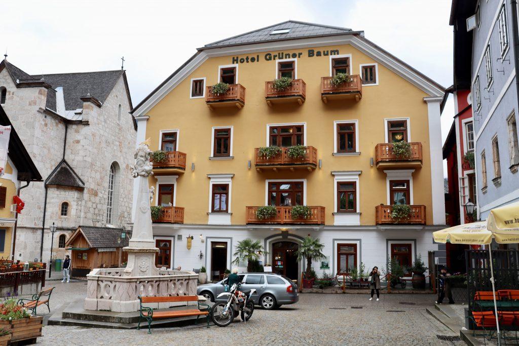 Seehotel Grüner Baum, em Hallstatt, Áustria