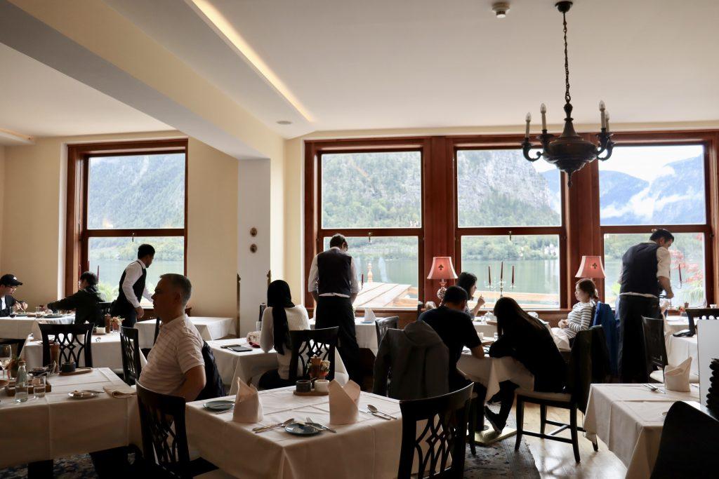 Restaurante Zum Salzbaron, Hallstatt, Áustria
