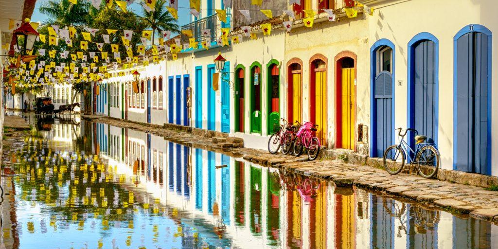 Centro Histórico de Paraty, Rio de Janeiro, Brasil