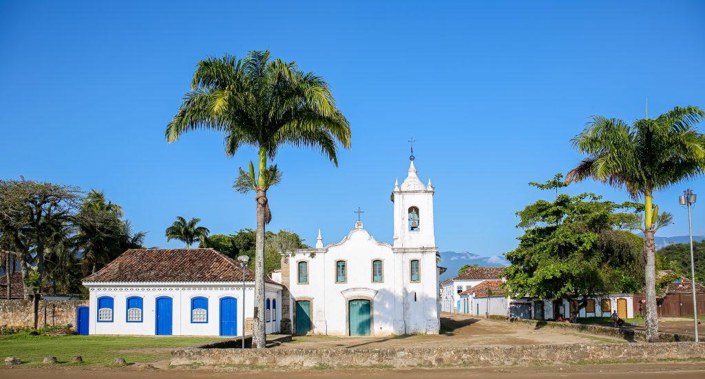 Igreja Nossa Senhora das Dores, Paraty, Rio de Janeiro, Brasil