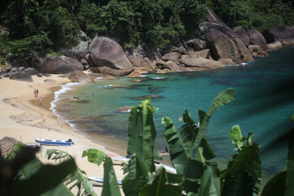 Praia de Ponta Negra, Paraty, Rio de Janeiro, Brasil