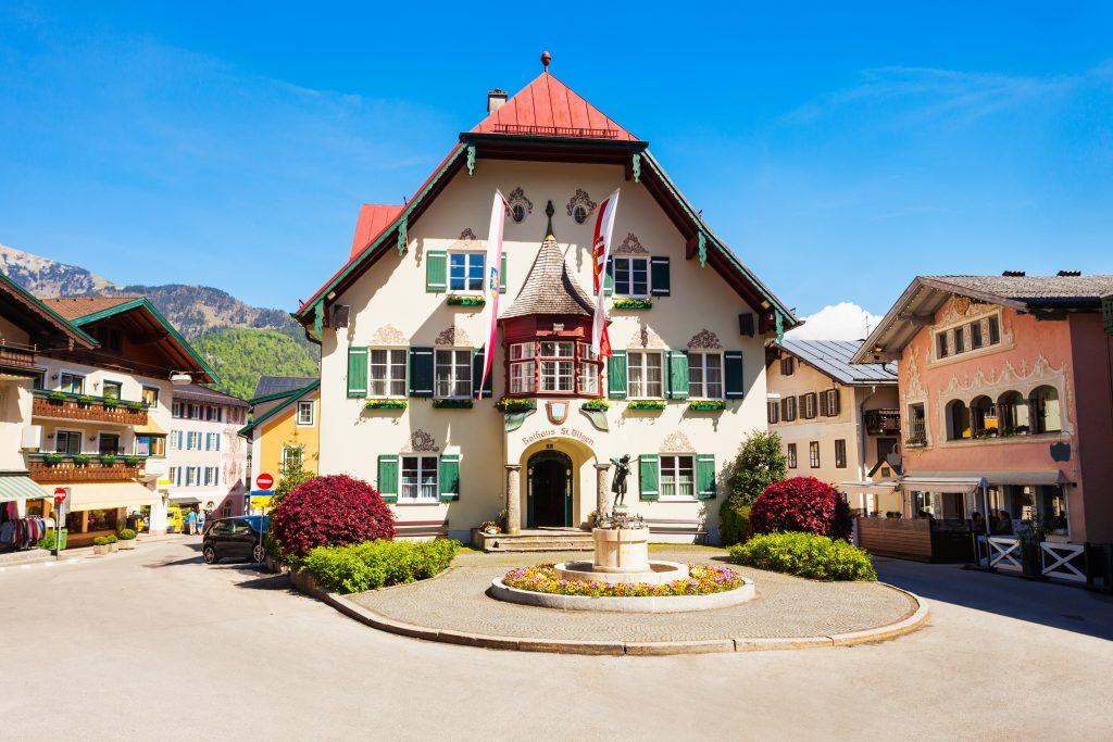 St. Gilgen Rathaus, Áustria