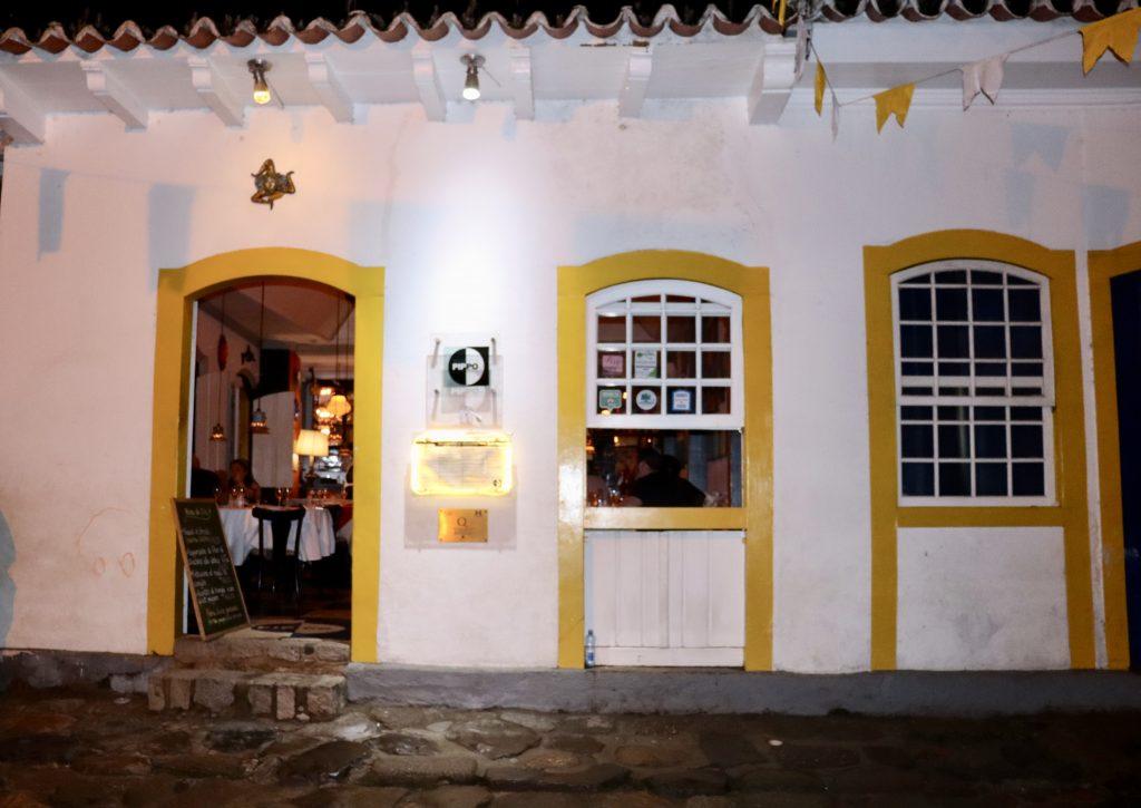 Restaurante Pippo em Paraty, Rio de Janeiro, Brazil
