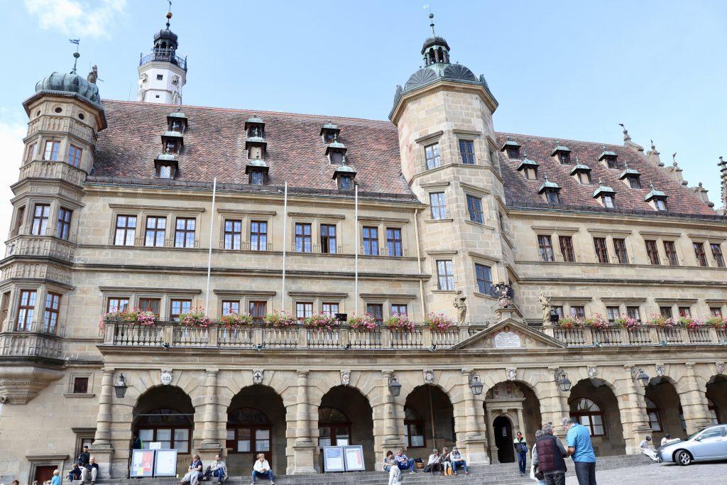 Rathaus (Prefeitura) de Rothenburg ob der Tauber, Alemanha