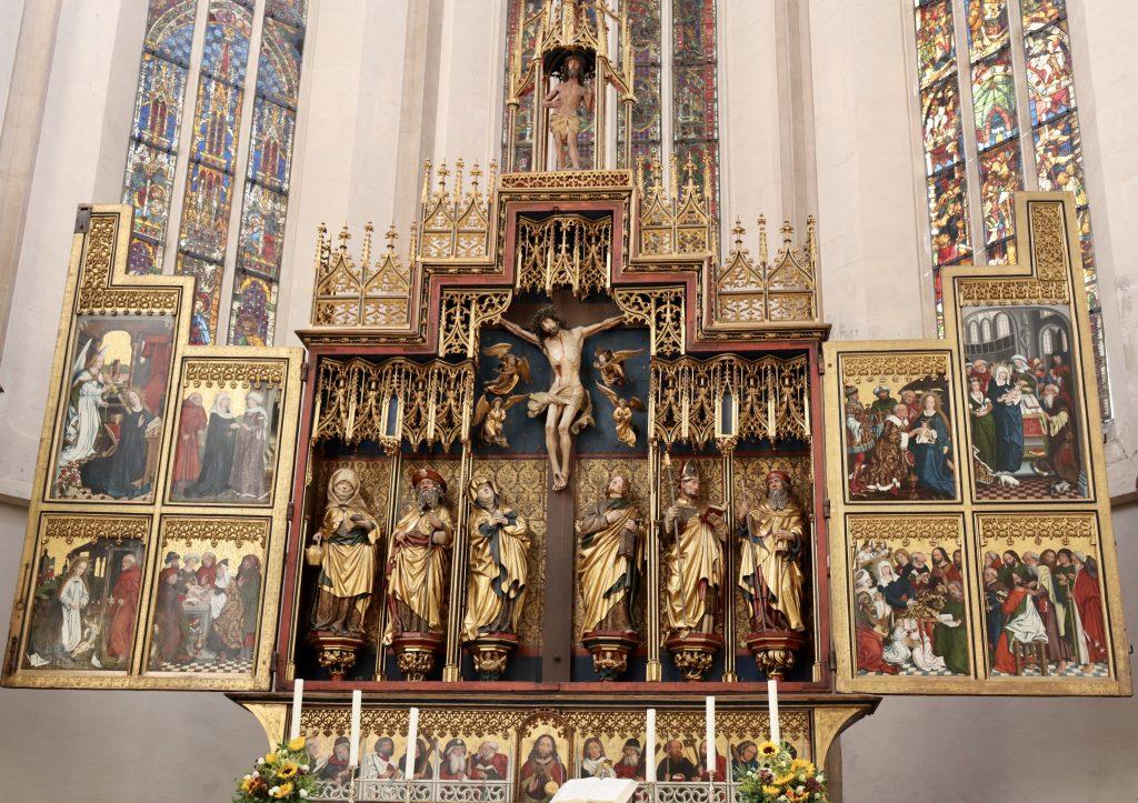 Altar dos Doze Apóstolos, Igreja de St. Jakob, Rothenburg ob der Tauber, Alemanha