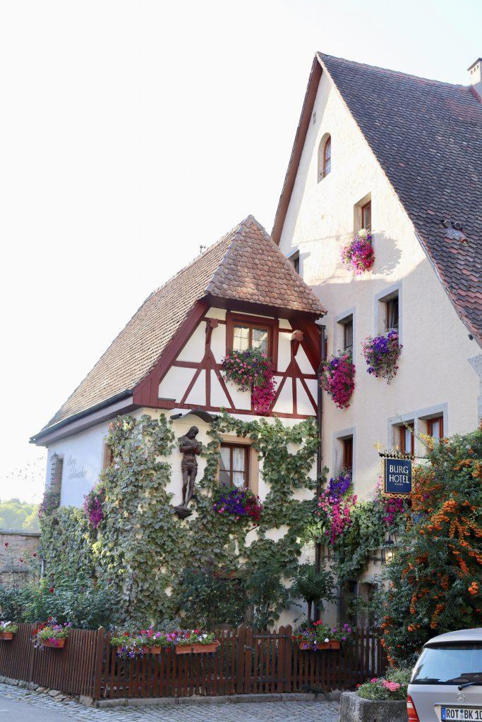 Burghotel em Rothenburg ob der Tauber, na Alemanha