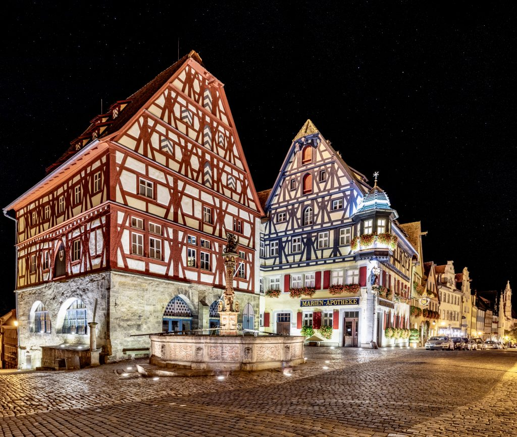 Marien-apotheke, Rothenburg ob der Tauber, Alemanha