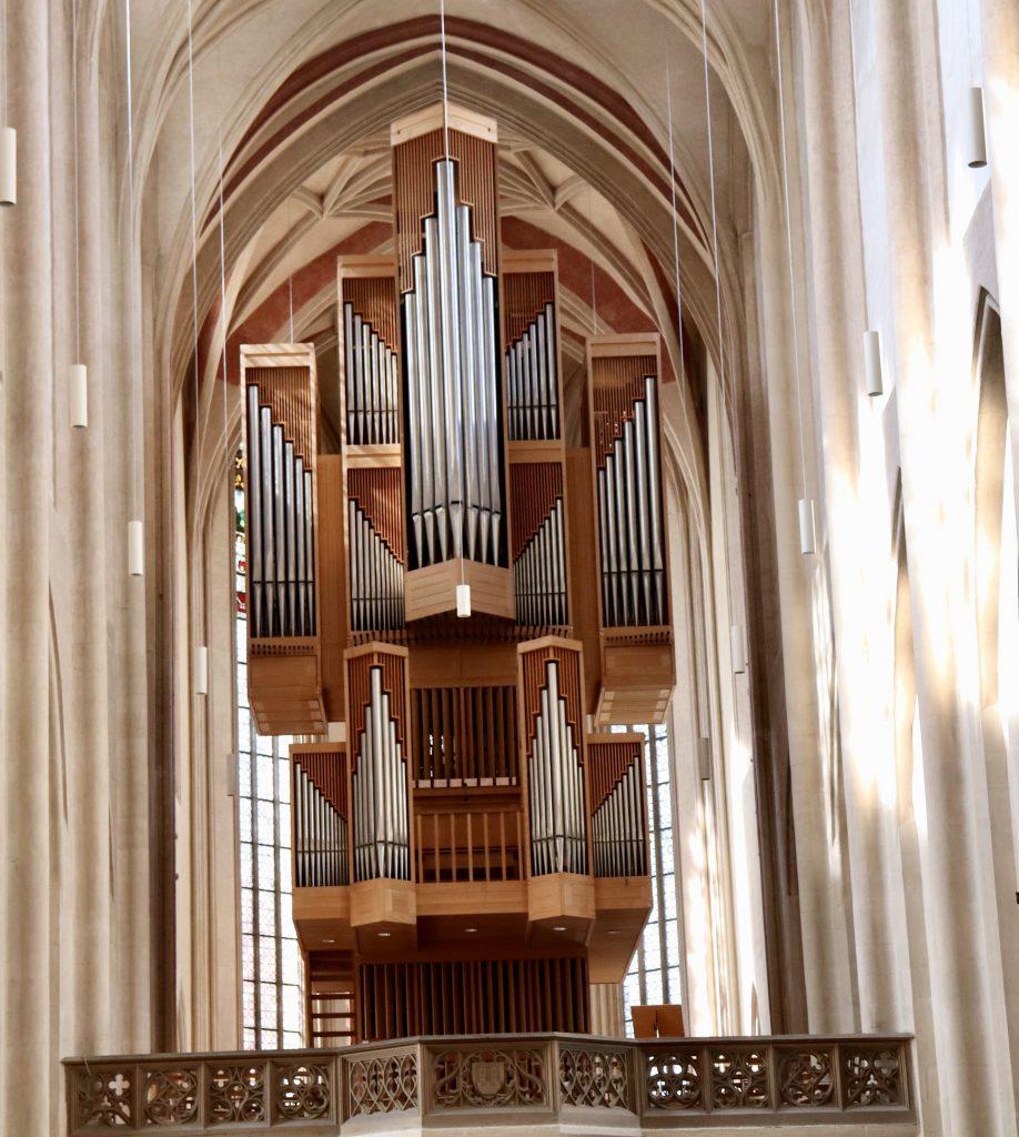 órgão da igreja de  St. Jakob  em Rothenburg ob der Tauber, Alemanha.