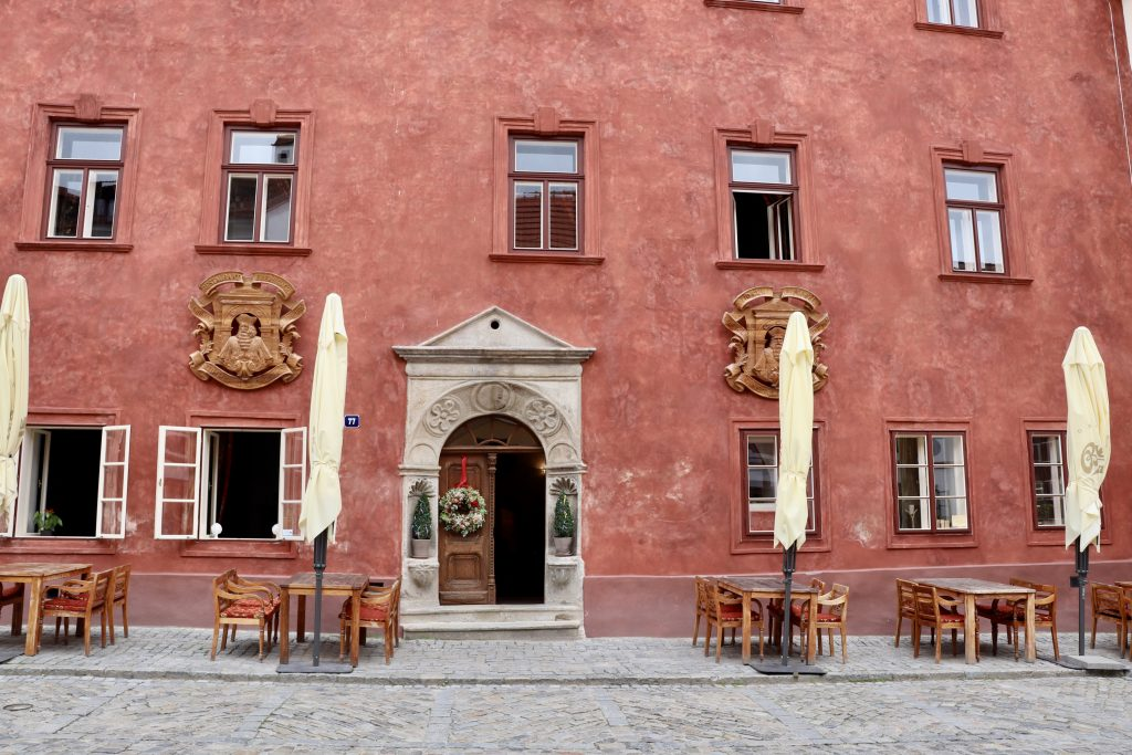 Hotel Ebersbach, em Cesky Krumlov, República Tcheca