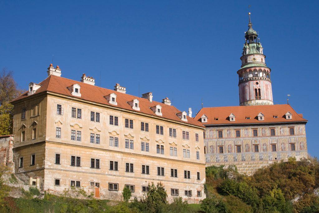 Castelo Cesky Krumlov, República Tcheca