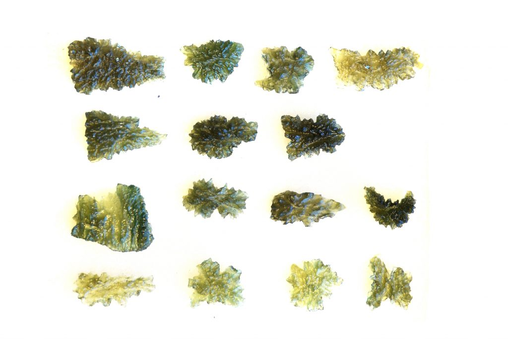 Moldavite ou Moldavita, mineral da República Tcheca