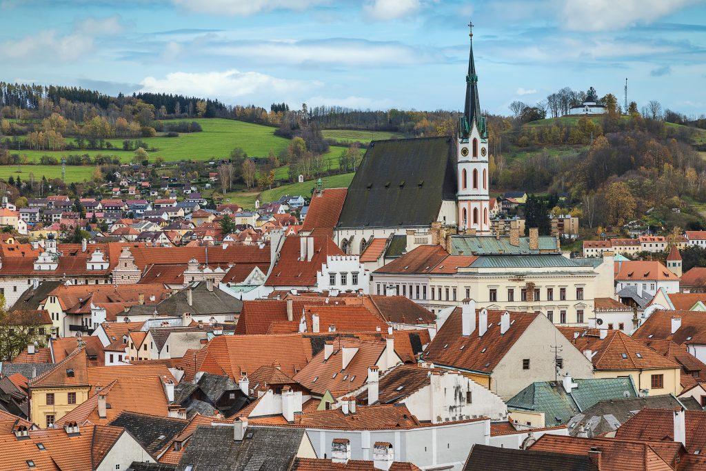 Igreja de São Vito, Cesky Krumlov, República Tcheca
