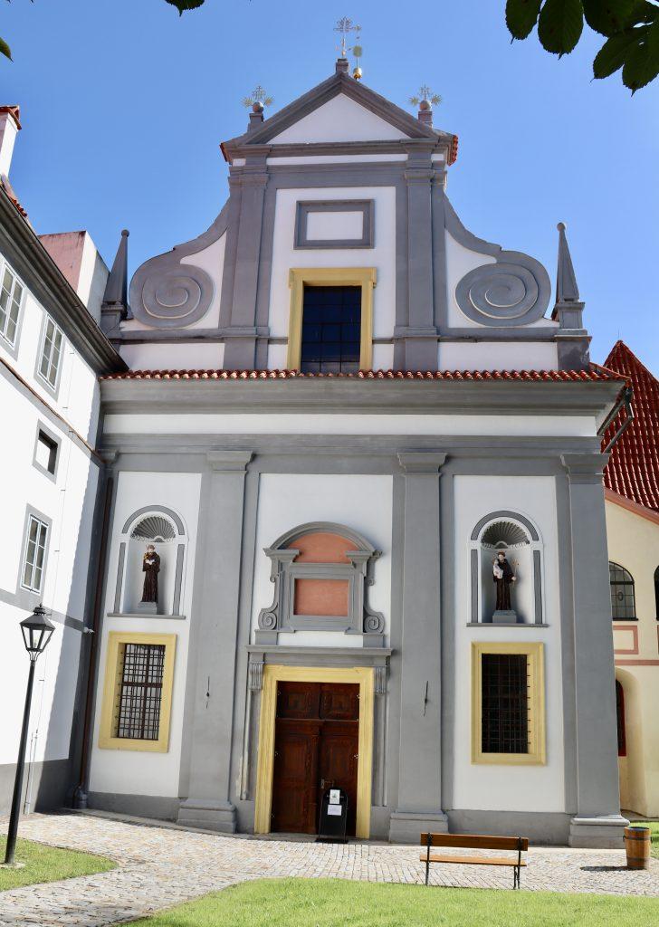 Igreja de Corpus Christi no mosteiro de Minorites, Cesky Krumlov