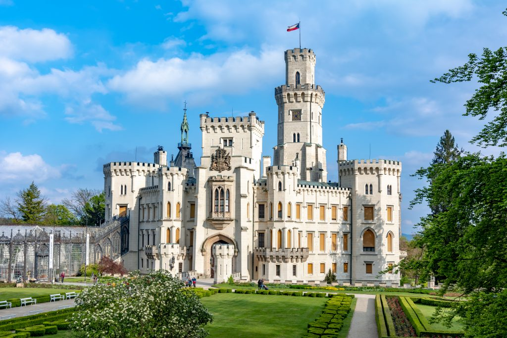 Castelo de Hluboká nad Vltavou, República Tcheca