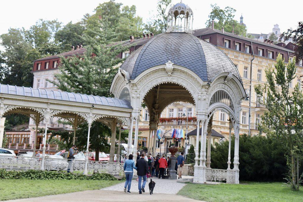 Sadová kolonáda, Karlovy Vary, República Tcheca