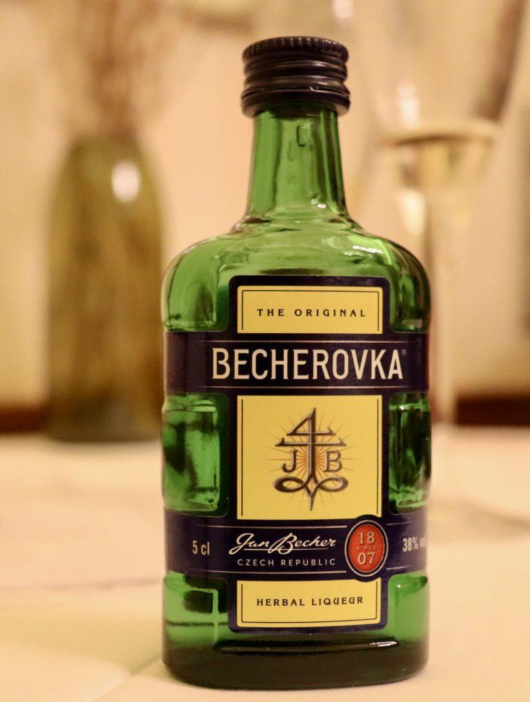 Licor Becherovka, em Karlovy Vary