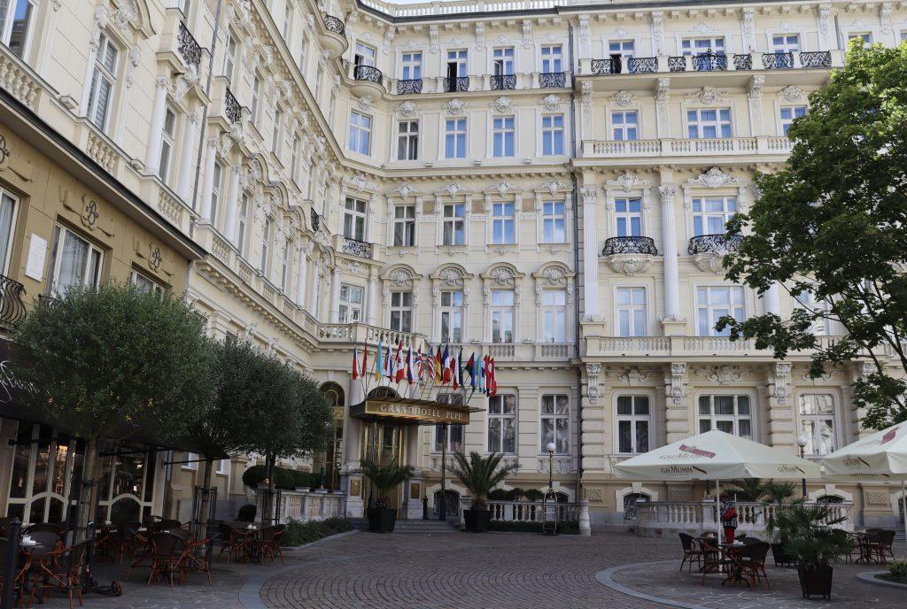 Grandhotel Pupp, em Karlovy Vary, República Tcheca