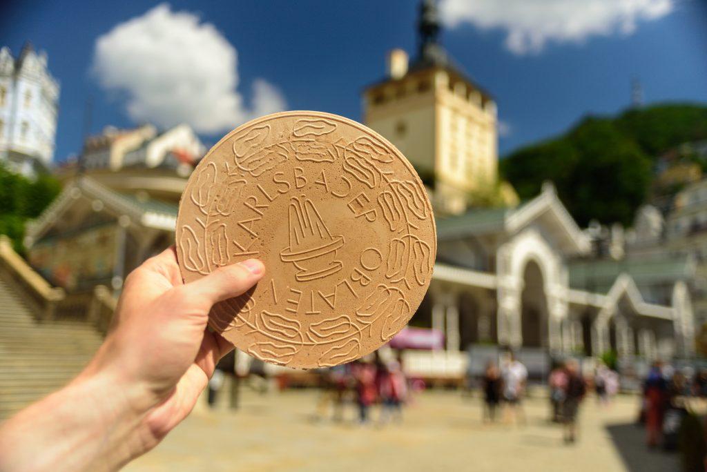 waffle de Karlovy Vary, Karlovarské Oplatky, República Tcheca