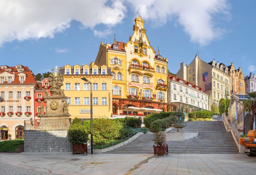 Promenáda Romantic, Karlovy Vary, República Tcheca