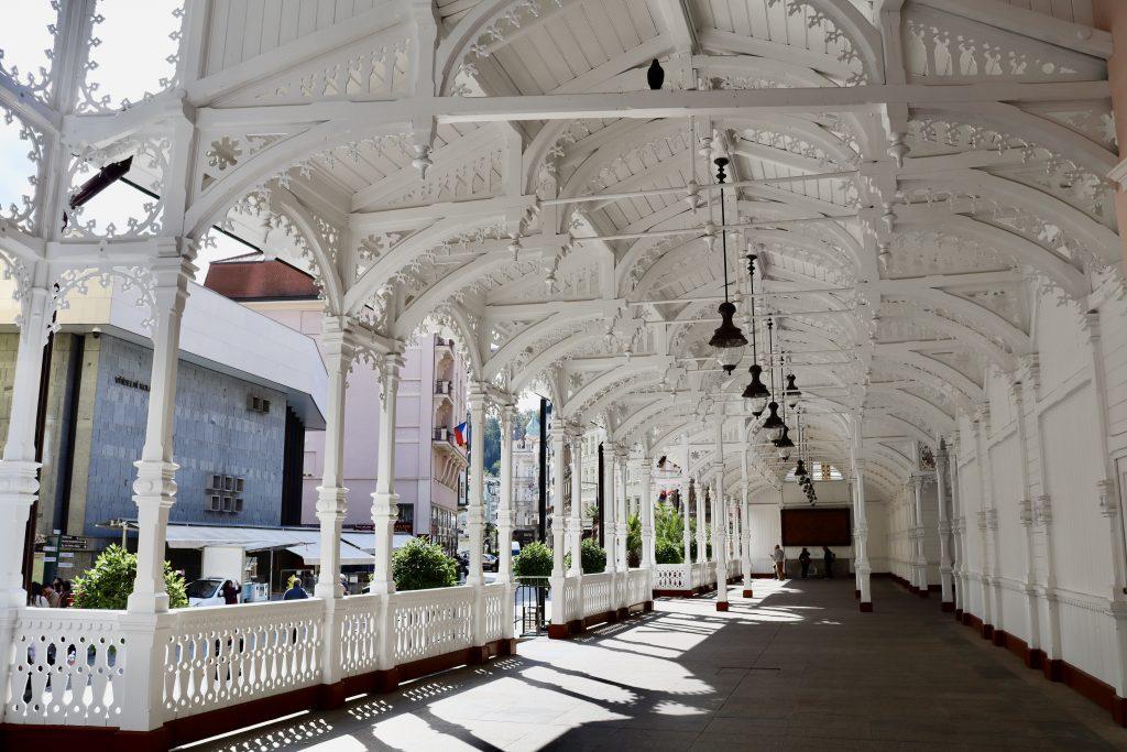Tržní kolonáda, Colunada do Mercado, Karlovy Vary, República Tcheca