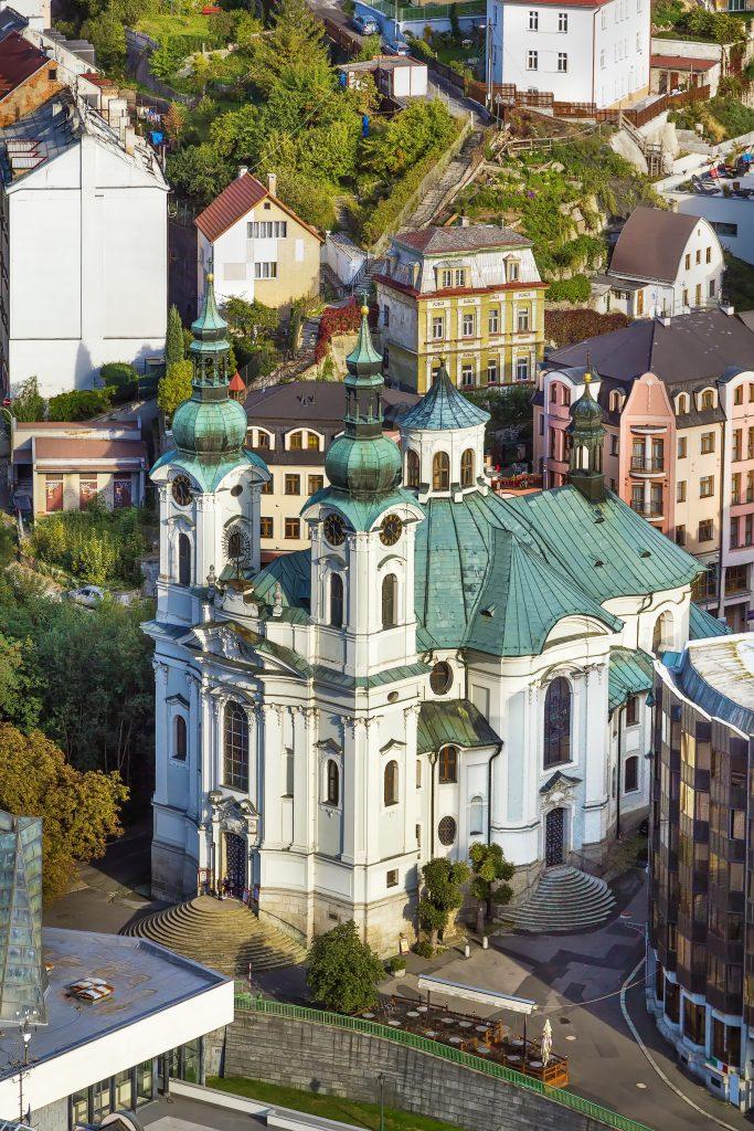 Igreja de Maria Madalena em Karlovy Vary, República Tcheca
